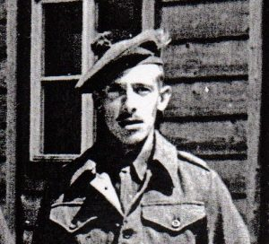 Bert Mathers while locked in a stalag.